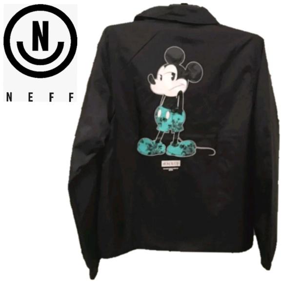 ffecb821ee6 NEFF Disney Collection Mickey Mouse Windbreaker